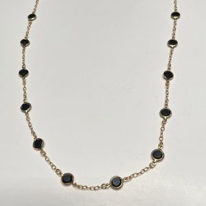 J. Crew Pools Of Light Crystal Chain Necklace